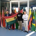 Team Ghana on arrival for the 2019 WCGC World Final